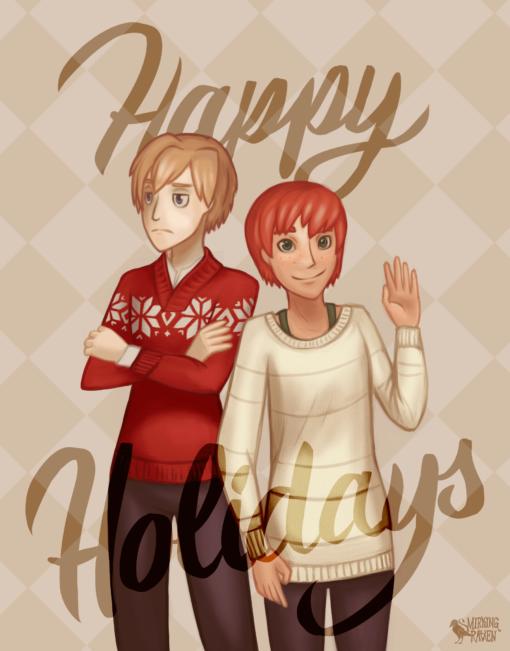 Happy Holidays! by Smirking Raven