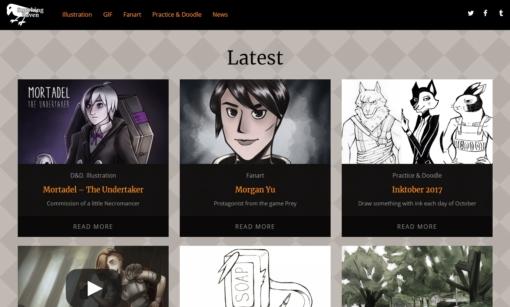 Opening website! by Smirking Raven
