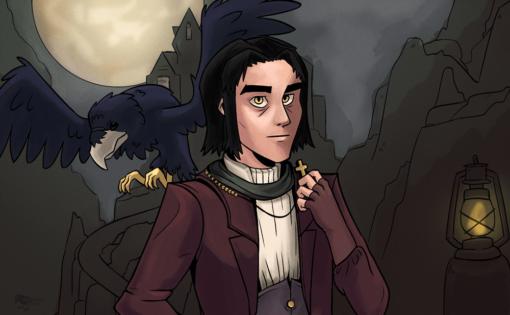 Melvin the Gilnean Priest by Smirking Raven