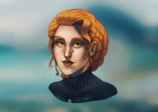 Esther the Noble Gunslinger by Smirking Raven