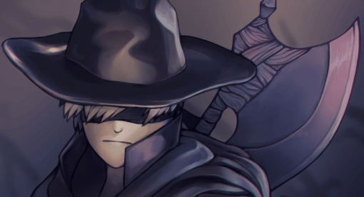 Father Gascoigne from Bloodborne and 9S from Nier : Automata Close-up by Smirking Raven