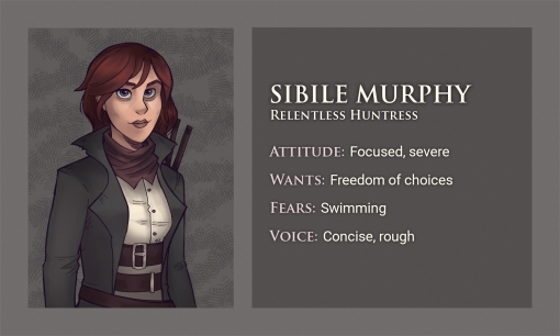 Moonridge Character sheet project - By Smirking Raven