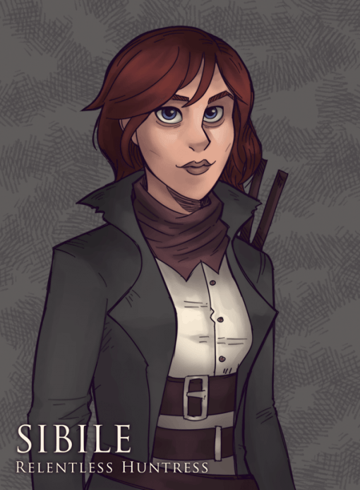 Sibile Murphy - Moonridge Character Sheet Project by Smirking Raven