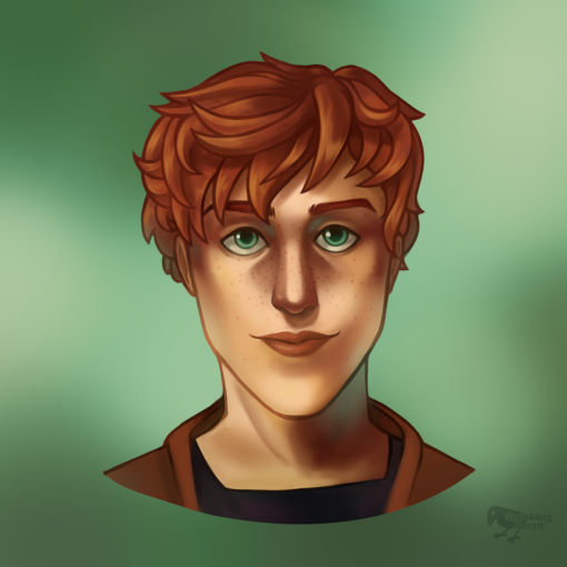 Adrian the Ginger Ranger by Smirking Raven