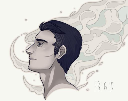 Frigid portrait by Smirking Raven