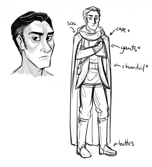 Frigid character sheet by Smirking Raven