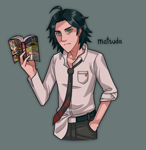 Yasuke Matsuda – Danganronpa by Smirking Raven