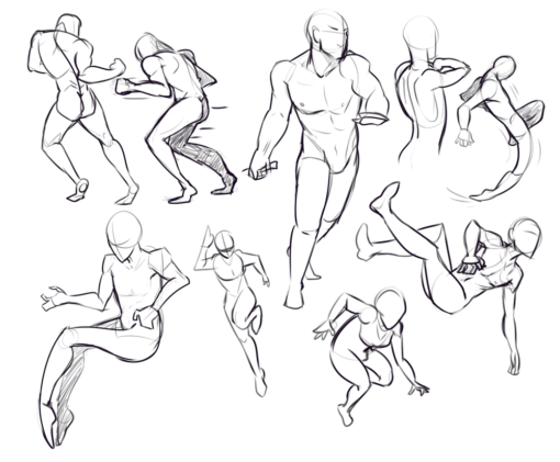 Gesture Drawing Drill Challenge by Smirking Raven