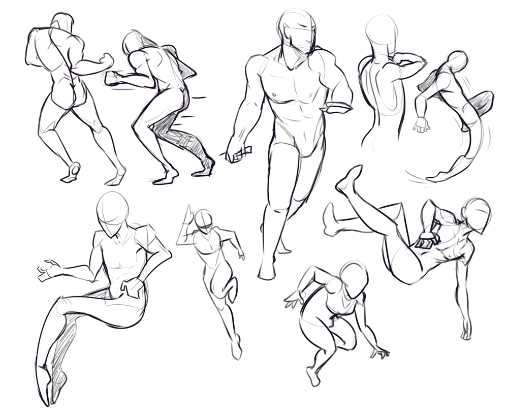 It's just a picture of Resource Hands On Hips Pose Drawing