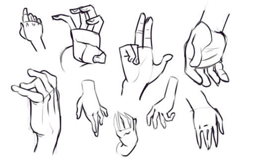 Hands Drawing Drill Challenge by Smirking Raven