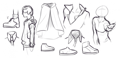 Clothes Drawing Drill Challenge by Smirking Raven
