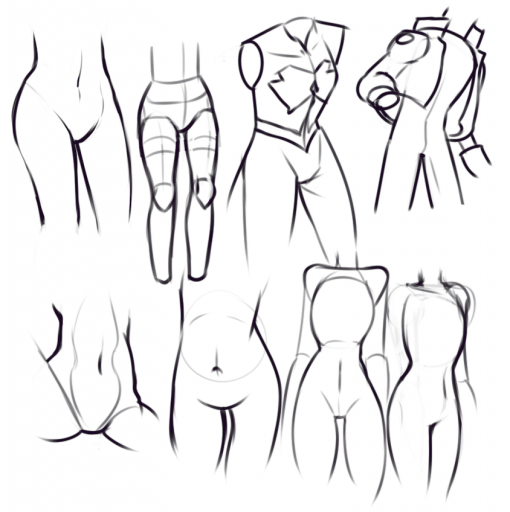 Hips Drawing Drill Challenge by Smirking Raven