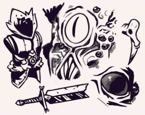 Darkest Dungeon Doodles by Smirkingv Raven