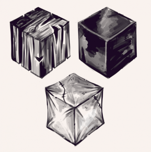 Textures Drawing Drill Challenge by Smirking Raven