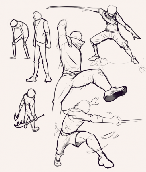 Gestures Drawing Drill Challenge by Smirking Raven