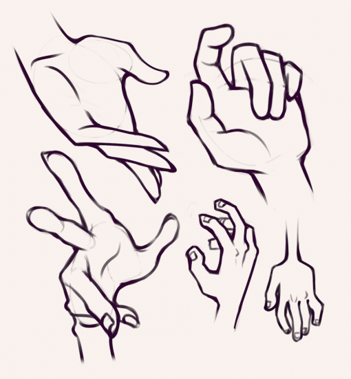 Hands drawing by Smirking Raven