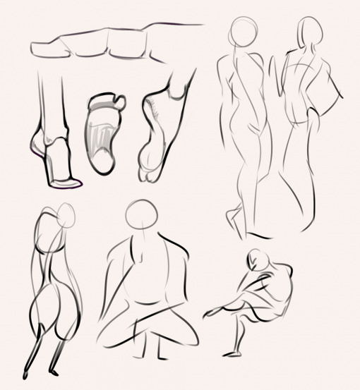 Gesture - Bridgman studies - Drawing drill by Smirking Raven