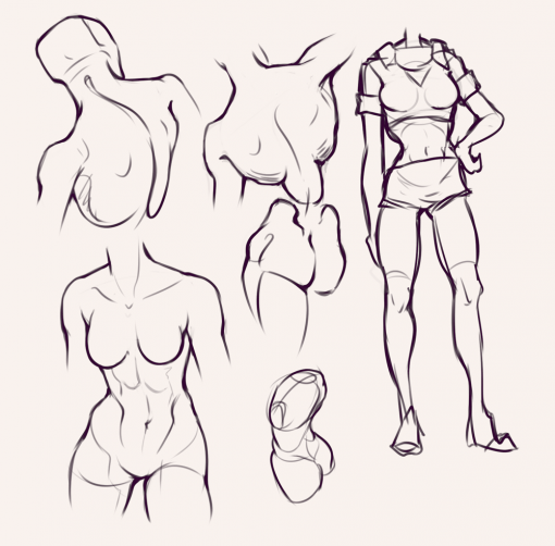 Body - Drawing drills by Smirking Raven