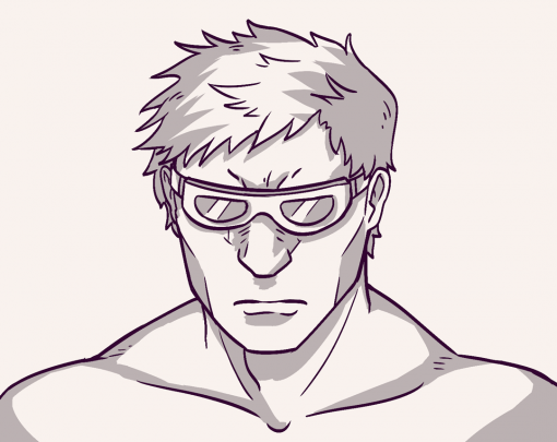 Muscle glasses - Drawing Drills by Smirking Raven