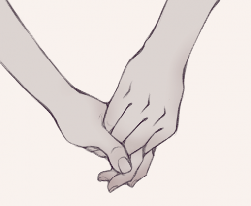 Hand Holding hold cute - Drawing Drills by Smirking Raven