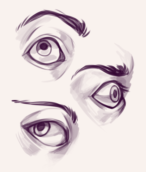 Eyes Drawing Drill by Smirking Raven