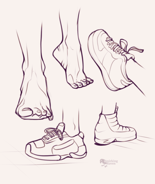 Feet studies and artfight 2021 : <br/>Drawing drill#100 by Smirking Raven